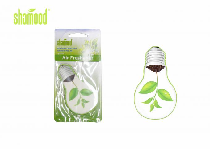 Green Tea Fragrance Paper Air Freshener Natural for Hanging in Car