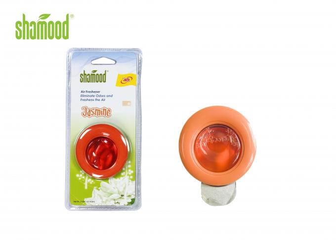 Jasmine Orange Aromatic Promotional Air Fresheners Vent Chip Inside