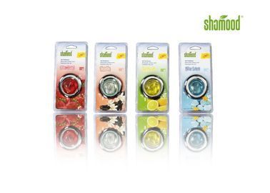 China Red Blue Yellow Green Liquid Car Air Freshener OEM  ODM / Customized 7ML supplier