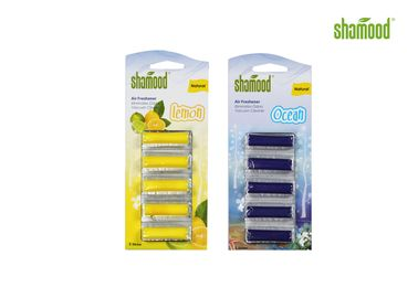 China Home Small Eco-friendly Vacuum Cleaner Air Freshener 5 Strips per Set supplier