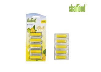 Yellow Lemon Home Small Vacuum Air Fresheners Cleaner 5 Strips / Set