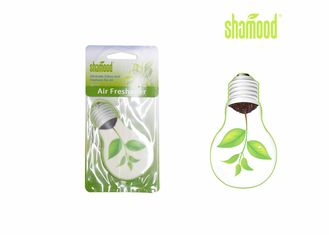 China Promotional Hanging Novel Bulb Thick Paper Air Freshener For Vehicles & Home supplier