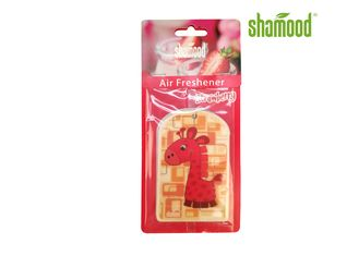 China Animal Giraffe Funny Air Fresheners For Cars  Fruit Nature Design Flower style supplier
