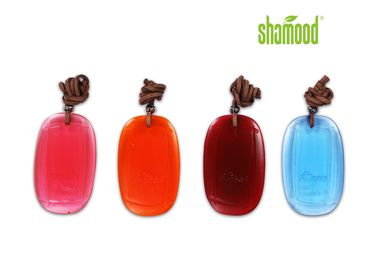 China Square PVC Transparent Car Air Fresheners Hanging Plastic Deco Refresher supplier