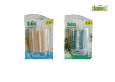 China 2 Solid Strips Best Essential Oil For Air Freshener  For Toilet supplier