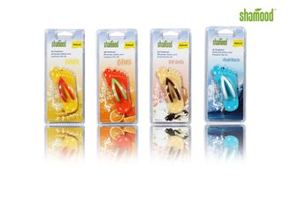 China Simple Decorative Essential Oil Air Freshener For Car Rear - View Mirror Hanging supplier