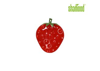 China Red Single Sweet Strawberry Car Air Freshener Hanging  Practical supplier