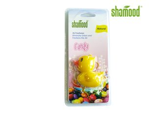 China Lemon Cute Yellow Duck Hanging Air Freshener in Car Rear - vision Mirror supplier