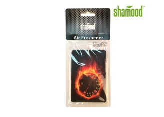 China Burning Passion Essential Oil Air Freshener For Vehicles  Scented Paper Card supplier
