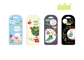 China Happy Hour Scent Paper Personalised Air Fresheners Not Vehicle Specific supplier