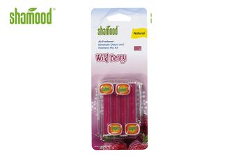 Wild Berry Fragrance Auto Air Freshener Vent Plastic 4 Sticks Customized