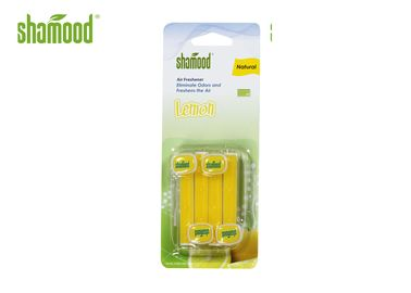 Lemon Fragrance Vent Stick Air Freshener , Mini Scented Air Freshener