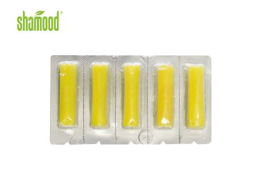 5 Strips Vacuum Odor Remover Home Small Yellow Lemon Scents