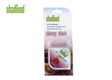 China Cherry Blast Square Room Air Freshener , Waterbase Gel 1oz Fragrance Air Freshener supplier