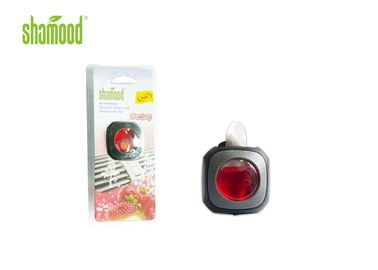 China Strawberry Liquid Car Air Freshener , 4ML Membrane Air Freshener supplier