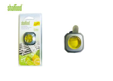 China Lime Fragrance Small Liquid Car Air Freshener Eco - Friendly 4ML Volume supplier