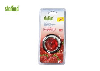 Red Srawberry Fragrance Vent Car Air Freshener OEM ODM UFO Shape
