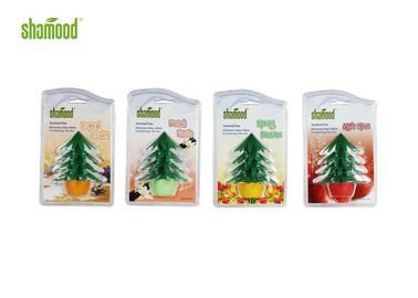 Household Deco Aromatic Plastic Air Freshener Scented Christmas Tree Oder Eliminator