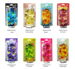 China Flower Plastic Air Freshener Haning Aromatic Perfume Both Home Car supplier