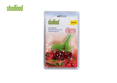 China Plastic Cherry Eco Friendly Air Freshener Hanging Strong Smell Long Last supplier