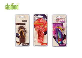 China Christmas Long Lasting Vehicle Room Air Freshener Plastic Material supplier