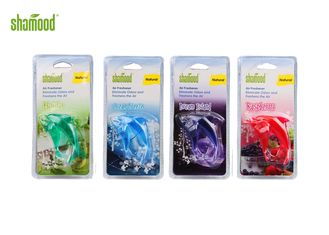 Double Dolphin Four Scents Hanging Air Freshener for Rear view Mirror