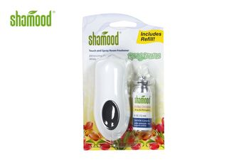 Portable Toilet Spray Air Freshener , Spring Breeze Commercial Air Freshener With Sticker Pump Type