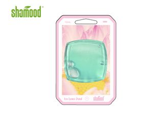 China Ice Lotus Petal Scent Square Shaped Membrane Liquid Air Freshener 10ml MSDS supplier