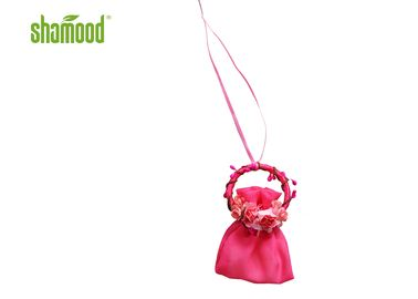 Pink Garland Romantic Scent Bag Hanging Air Freshener Eco - Friendly For Home