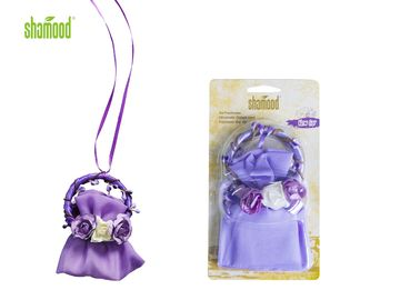 Purple Garland Car Scent Bag Car / Home Air Freshener With Six Different Options