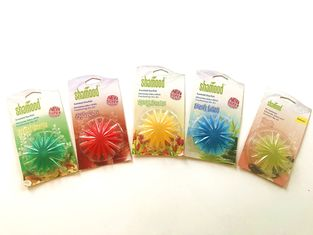 China Multiple Scents Solid Fresh Berry Natural Flower Shape Plastic Air Freshener supplier