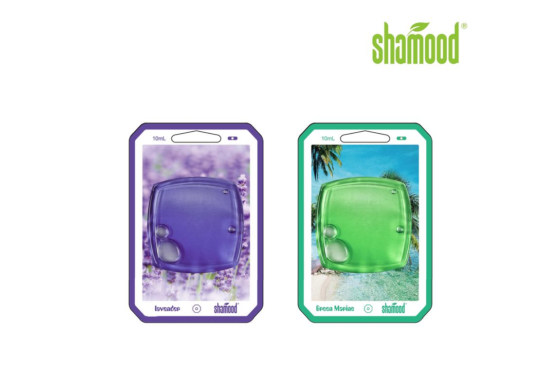Eco-Friendly 8ML Hanging Air Freshener Scents Long Lasting Bathroom Air Freshener