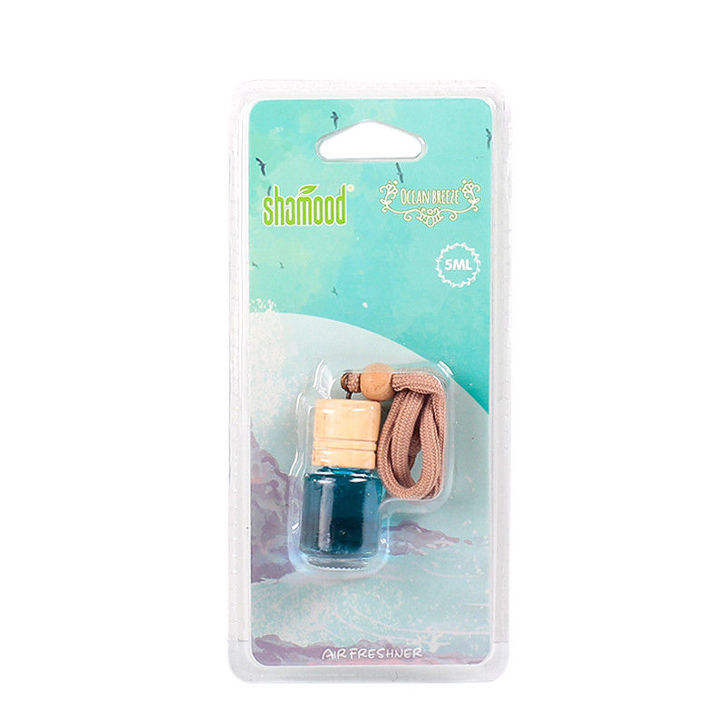 Ocean Breeze Wood Cap 5ml Natural Car Air Freshener