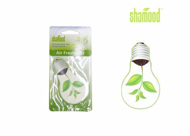 China Promotional Hanging Novel Bulb Thick Paper Air Freshener For Vehicles & Home factory