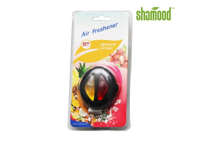 Double Oval Liquid Air Freshener Long lasting Vent Liquid Fragrance 6ml for Car