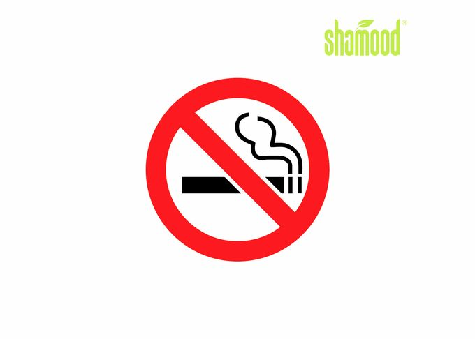 Customized No Smoking Paper Air Freshener For Home Eco - Friendly